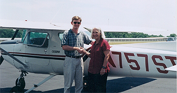 All kinds of people from all walks of life complete the private pilot course at Chester Charter flight instruction